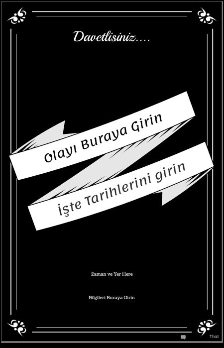 Etkinlik Posteri 2