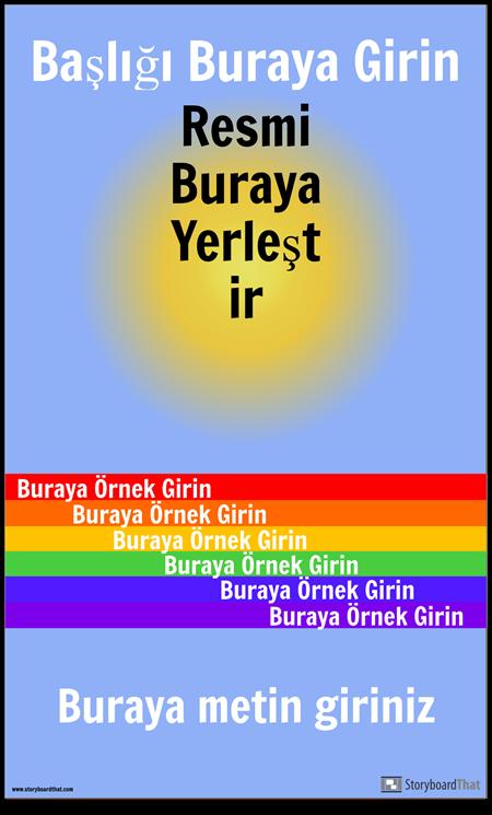 Görsel Kelime Posteri