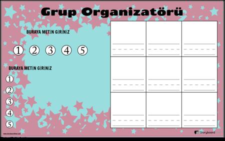 Grup Çalışması Organizatörü