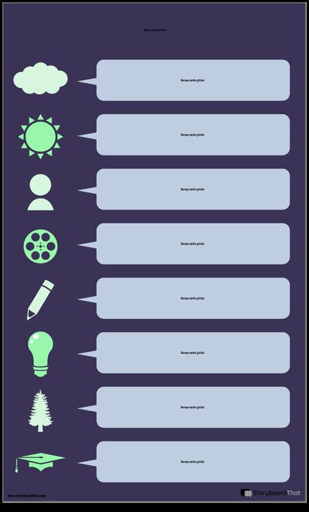 Konuşma Balonu Bilgi Grafiği