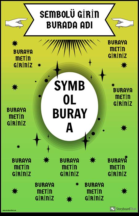 Matematik Sembolü Posteri