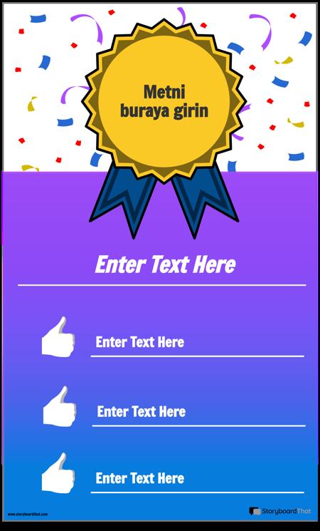 Ödül Bilgi Grafiği