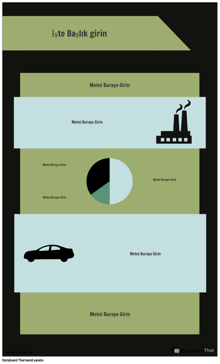 PSA Bilgi Grafiği Şablonu