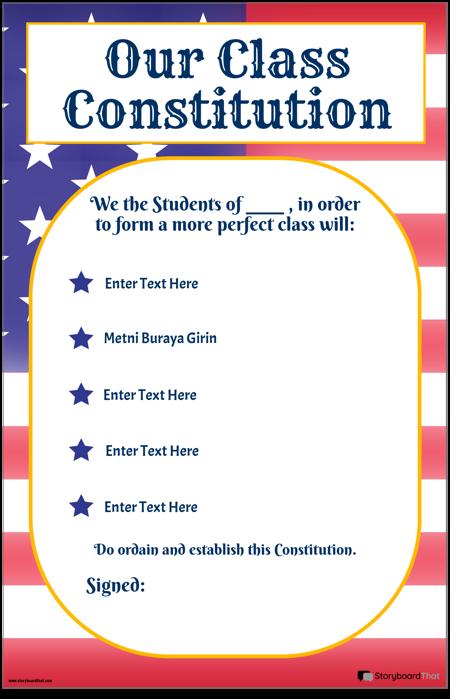 Sınıf Anayasası 2