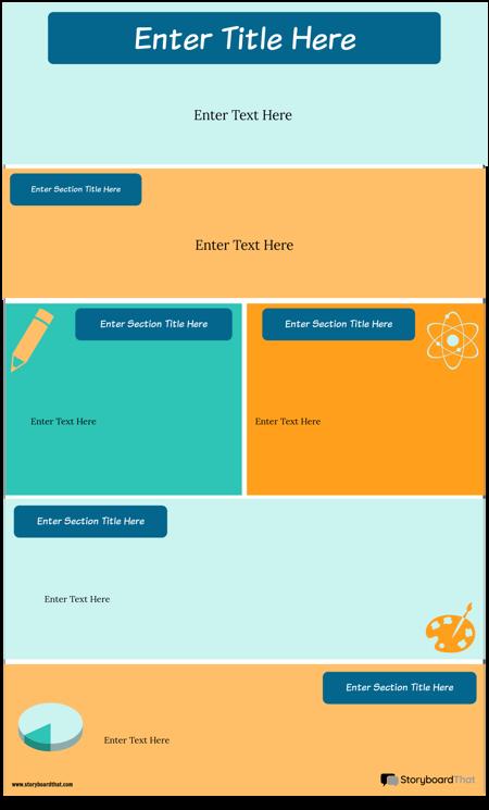 Stratejiler Bilgi Grafiği Şablonu