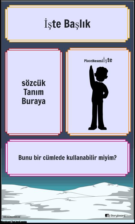 Tanım Poster 1