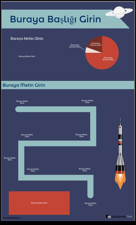 Uzay İnfografik