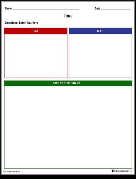 Build Planning Worksheet