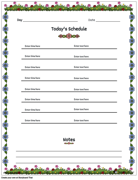 Daily planner 5