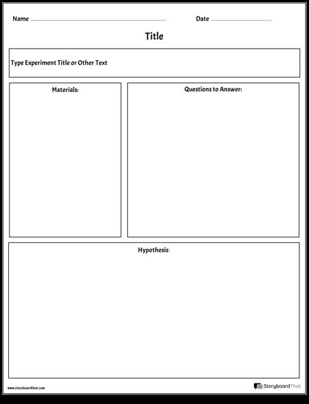Experiment/Lab Sheet - Generic