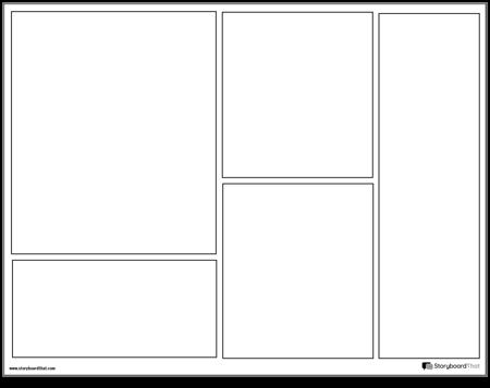 Graphic Novel Layout 2