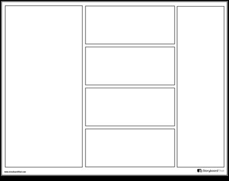 Graphic Novel Layout 3