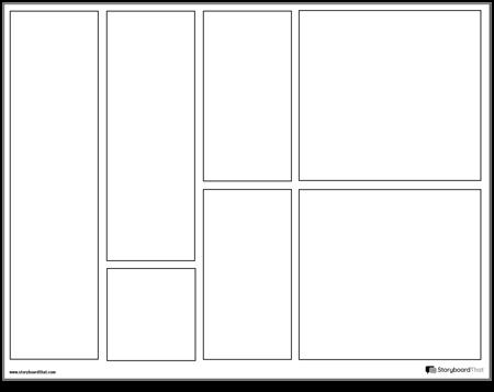 Graphic Novel Layout 5