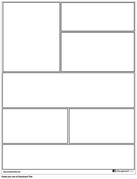 Graphic Novel Layout