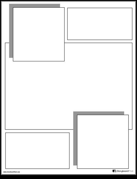 Graphic Novel Layout 8
