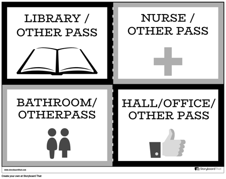 Hall Passes 10