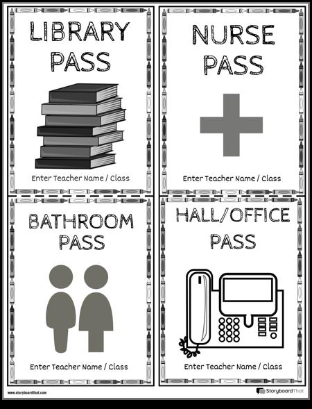 Hall Passes 12