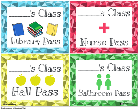 Hall Passes 8