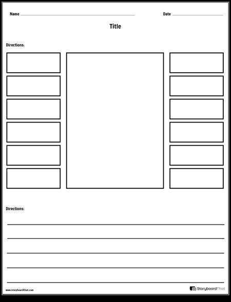 Labeling Worksheet Template - 1