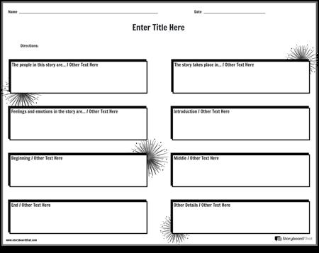 Personal Narrative Worksheet 6