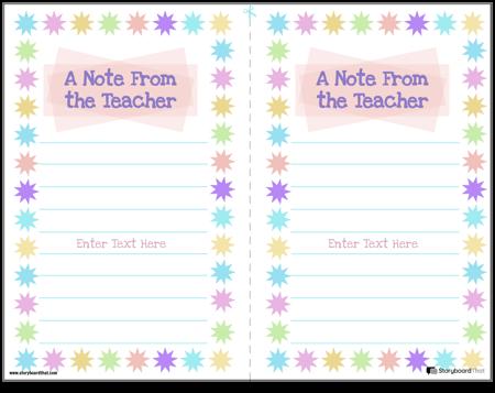 Parent Teacher Notes 4