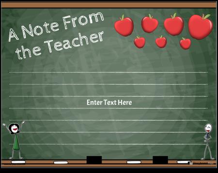 Parent Teacher Notes 6