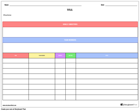 Planner - By Project