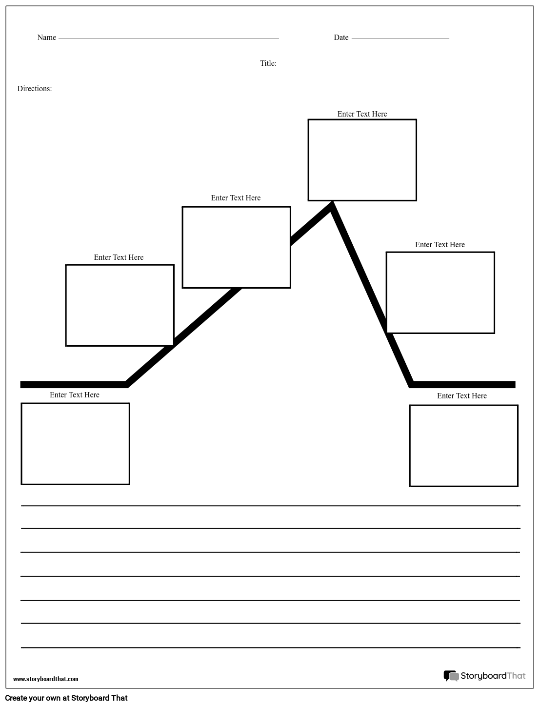 Create A Plot Diagram Worksheet Plot Diagram Templates