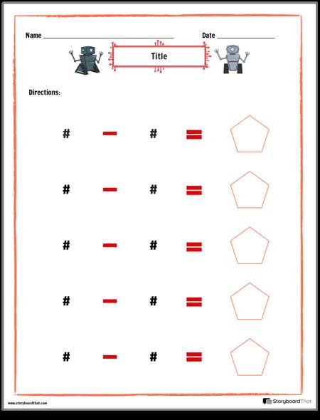 Robot Subtraction