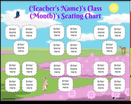 Seating Chart 7