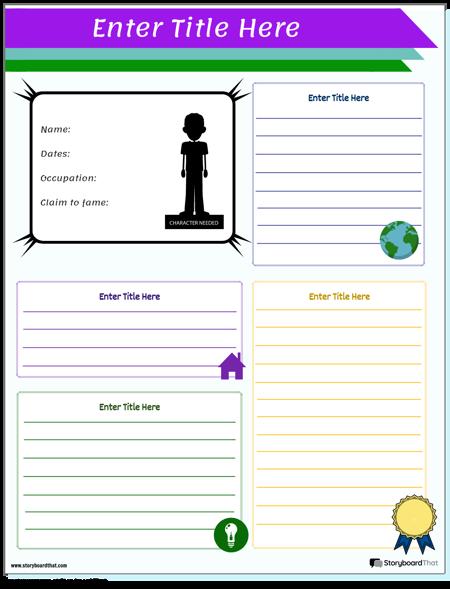 Social Studies Historical Figure Worksheet